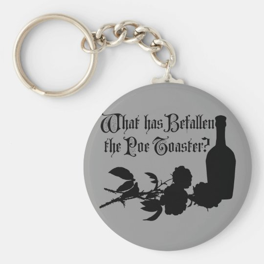 What Has Befallen The Poe Toaster Keychain