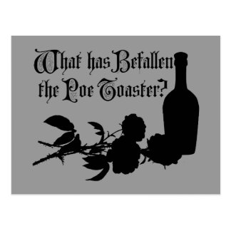 What Has Befallen The Poe Toaster Postcard