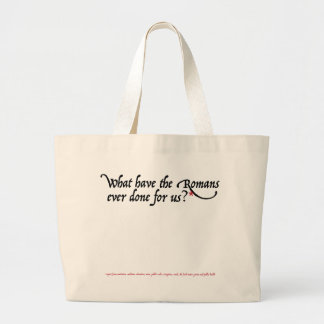 What have the Romans ever done for us Canvas Bag