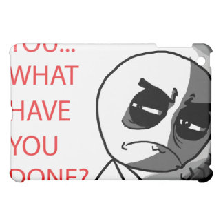 What Have You Done - iPad1 Case iPad Mini Cover
