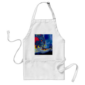What Hides In The Clouds? Adult Apron