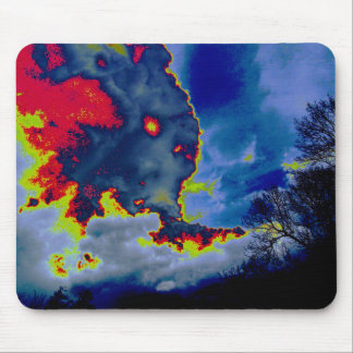 What Hides In The Clouds? Mouse Pad