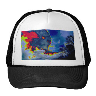 What Hides In The Clouds? Trucker Hat