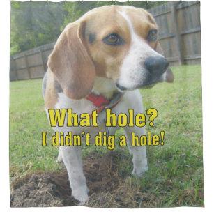 Funny Dog Shower Curtains Zazzle