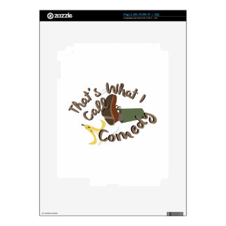 What I Call Comedy Decal For iPad 2