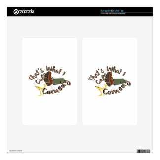 What I Call Comedy Decal For Kindle Fire