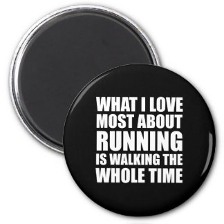 What I Love Most About Running Magnet