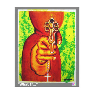 """What If... Canvas Print 16.33"""" x 20.29"""""""
