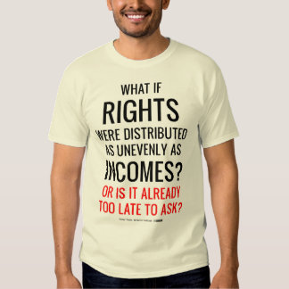 What if Rights Were Distributed as Unevenly as Inc T Shirts