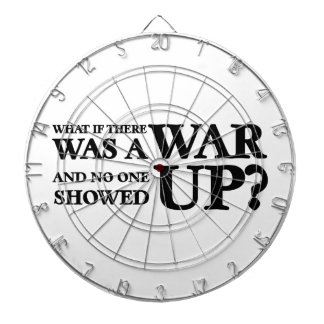 What If There Was a War, and No One Showed Up? Dartboard