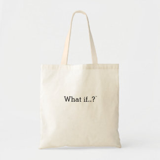 What if..?™ tote bag