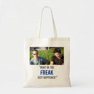 """What in the Freak Just Happened?"" Tote Bag"
