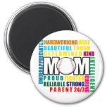 What is a Baseball Mom copy.png 2 Inch Round Magnet