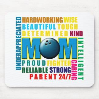 What is a Bowling Mom copy.png Mouse Pad