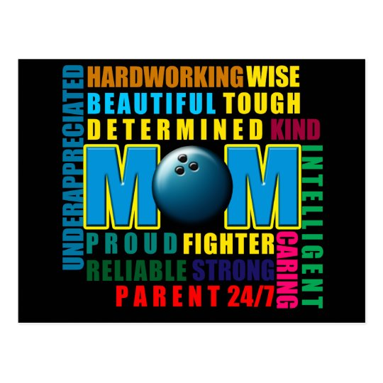 What is a Bowling Mom copy.png Postcard
