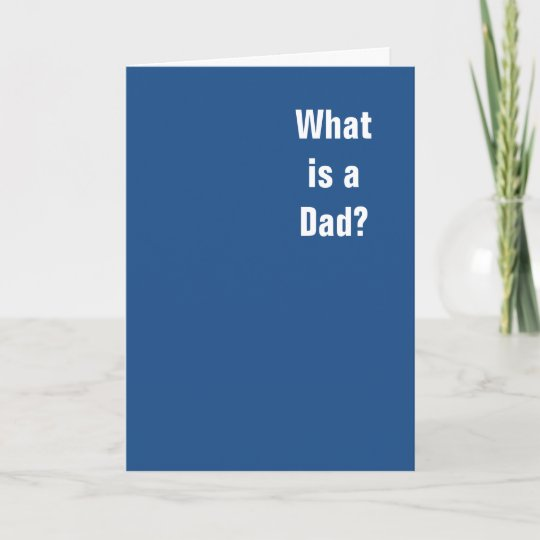 what is a dad you you is a dad card zazzle com