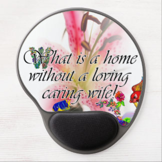 What is a home without.... gel mouse pad