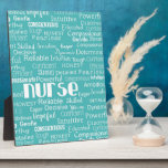 "What is a Nurse.....in Blue Plaque<br><div class=""desc"">For that nurse in your life.</div>"