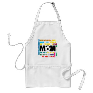 What is a Soccer Mom.png Adult Apron