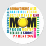 What is a Softball Mom copy.png Stickers