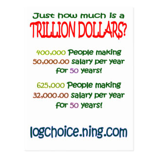 What is a trillion postcard
