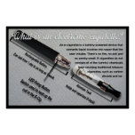 What is an Electronic Cigarette? Infomative Poster