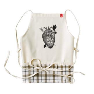 What Is Bad For Your Heart Is Good For Your Art Zazzle HEART Apron