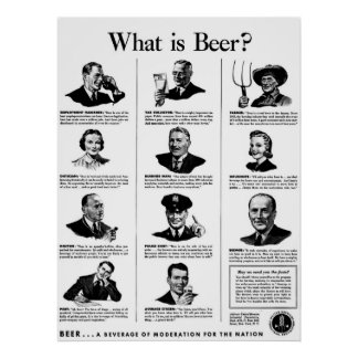 What is Beer? Posters