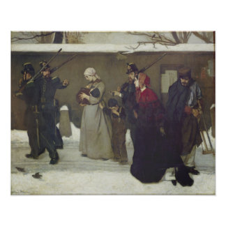 What is Called Vagrancy or Hunters of Vincennes Poster