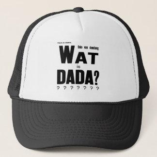 WHAT IS DADA DESIGN (THEO van DOESBURG) Trucker Hat