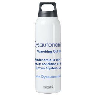 What is Dysautonomia? Dysautonomia SOS H2O Bottle 16 Oz Insulated SIGG Thermos Water Bottle