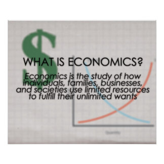 What is Economics? *UPDATED* Posters