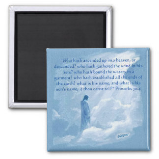 What is God's Son's Name Square Magnet