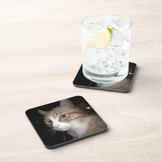 What is he thinking? drink coaster
