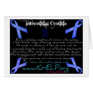 What is Interstitial Cystitis card