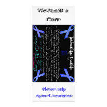 What is Interstitial Cystitis, We NEED a Cure, ... Rack Card