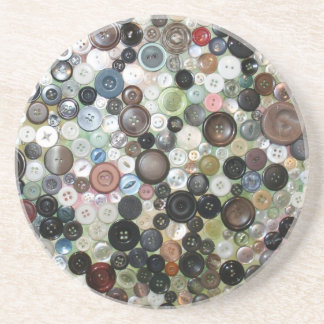 What is it About Buttons? Coaster