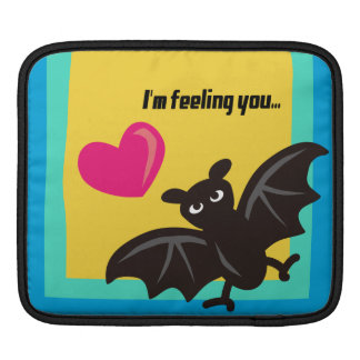 What is it like to be a BAT? iPad Sleeve