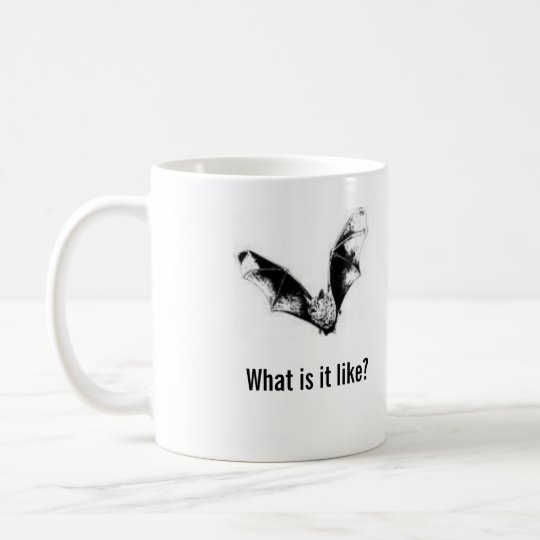 What is it like to be a bat? (right-hand) sml mug