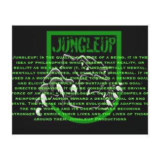 What is Jungleup? Canvas Print
