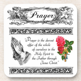 What is Prayer? Custom Cork Coaster 3