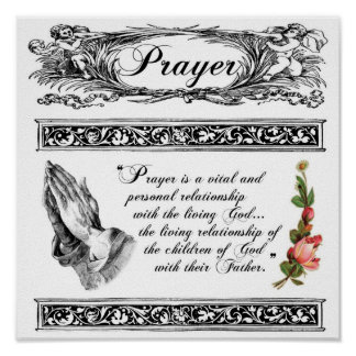 What is Prayer Custom Poster 1