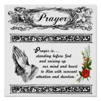 What is Prayer Custom Poster 2