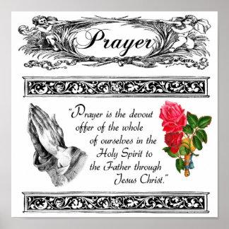 What is Prayer Custom Poster 3