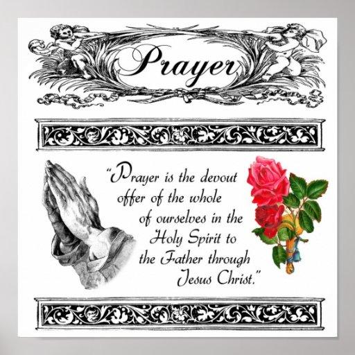 What is Prayer? Custom Poster 3
