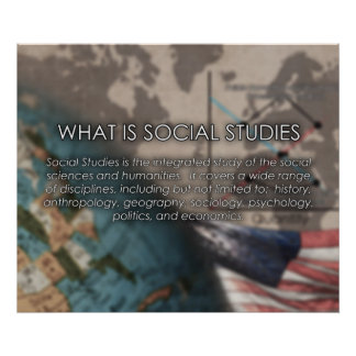 What is Social Studies? Poster *UPDATED*