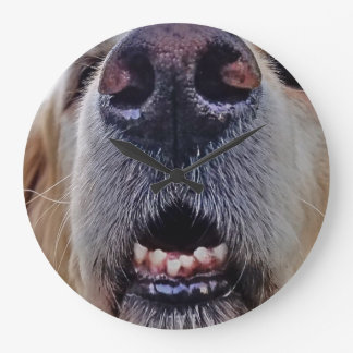 What is sweeter than a dog nose? large clock