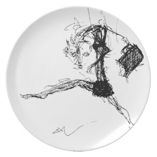 What IS that?! Melamine Plate