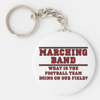 What Is The Football Team Doing On Our Field Keychains