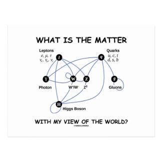 What Is The Matter With My View Of The World? Postcard